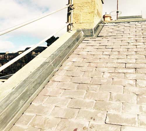 roofing replacement edinburgh new tiles