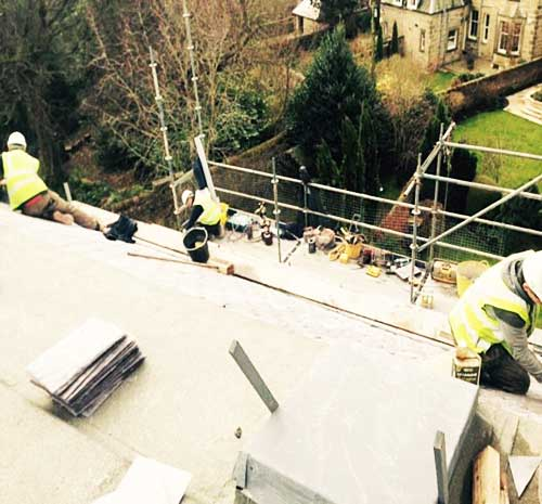 roofing replacement edinburgh midlothian roofing squad
