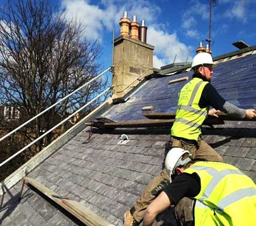 roofing replacement edinburgh roofing contractors
