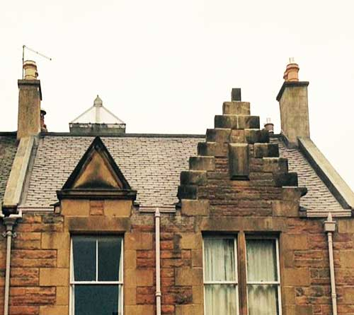 roofing replacement edinburgh satisfied customer