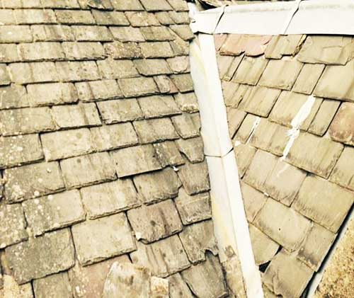 roof replacement edinburgh before repairs