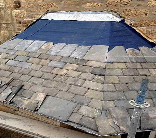 Roofing Repairs Edinburgh Broomieknowe Rhone Improvements