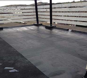 asphalt roof repairs edinburgh primer coating