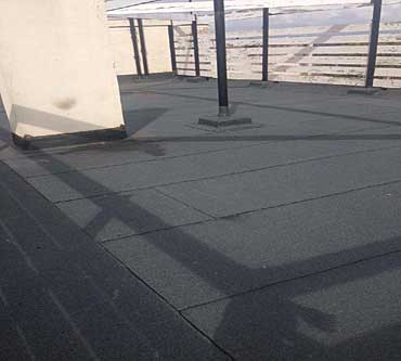 asphalt roof repairs edinburgh neat detail sealed laps