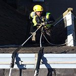 midlothian roofing rope access roofer