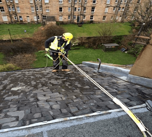 Photographic roof survey Viewforth Edinburgh